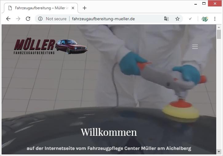 Fahrzeugpflege Müller